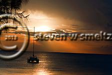 Ship at Anchor off Seven Mile Beach Grand Cayman (Steven Smeltzer)