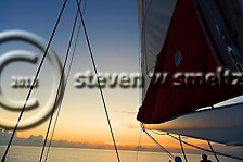 Sunset Cruise, Seven Mile Beach, Grand Cayman (Steven Smeltzer)
