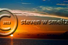 Blazing Lights and Color at Sunset Grand Cayman (Steven Smeltzer)